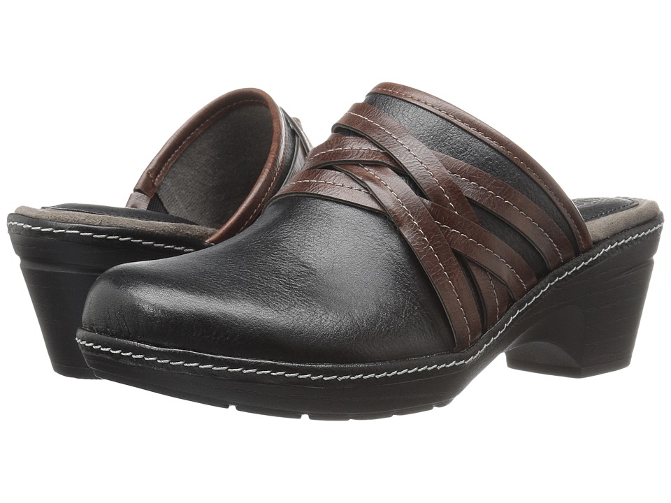EuroSoft - Binda (Black/Coffee) Women's Shoes