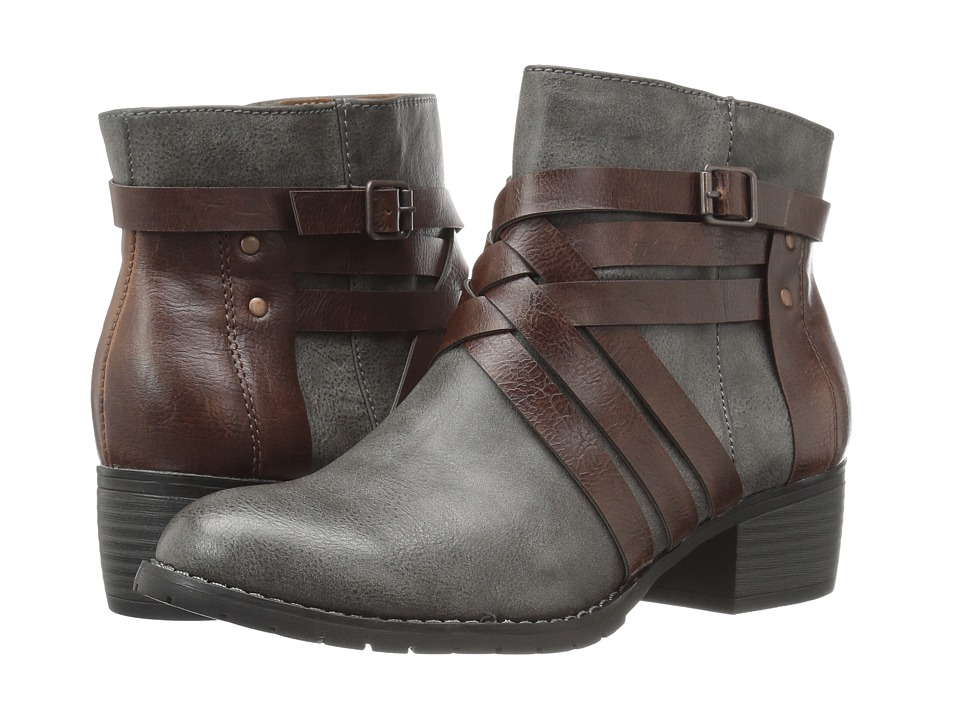 EuroSoft - Merced (Grey/Coffee) Women