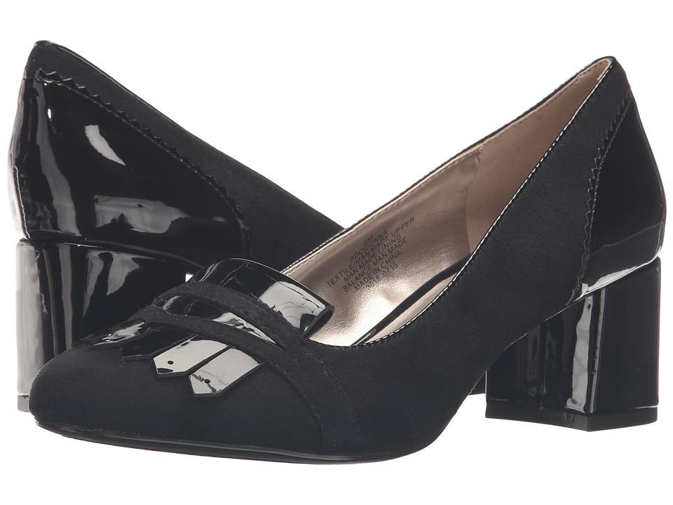 Bandolino - Odonna (Black Suede) Women's Shoes