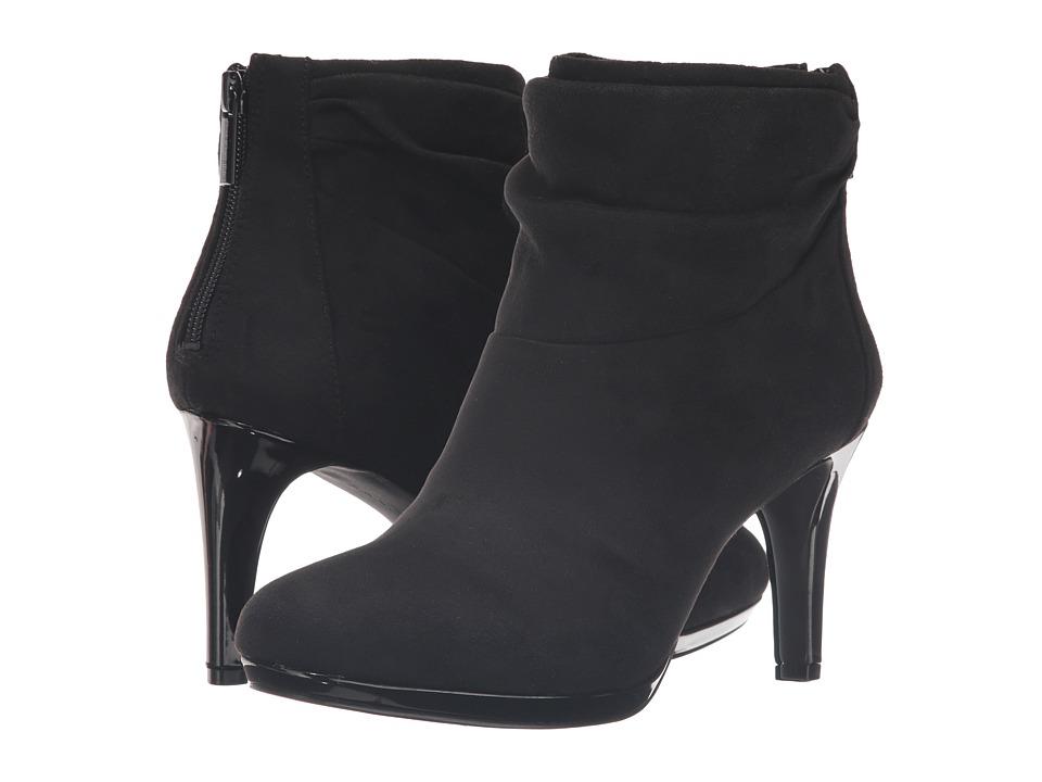 Bandolino - Pieretta (Black Suede) Women's Shoes