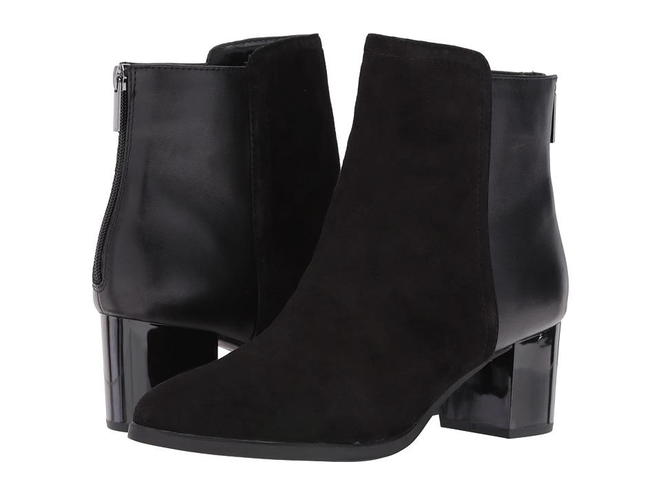 Bandolino - Planta (Black Suede/Leather) Women's Shoes