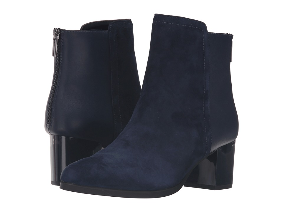 Bandolino - Planta (Navy Suede/Leather) Women's Shoes