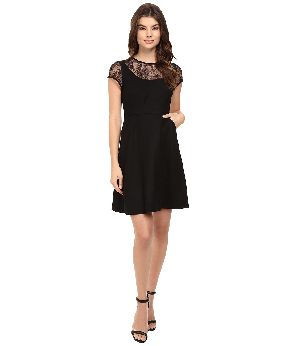 Susana Monaco - Selena Dress (Black) Women's Dress