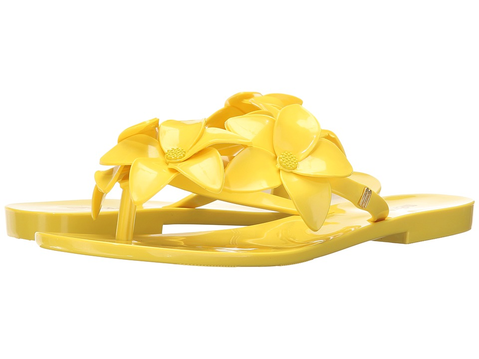 Melissa Shoes - Melissa Harmonic Garden IV AD (Yellow) Women's Shoes
