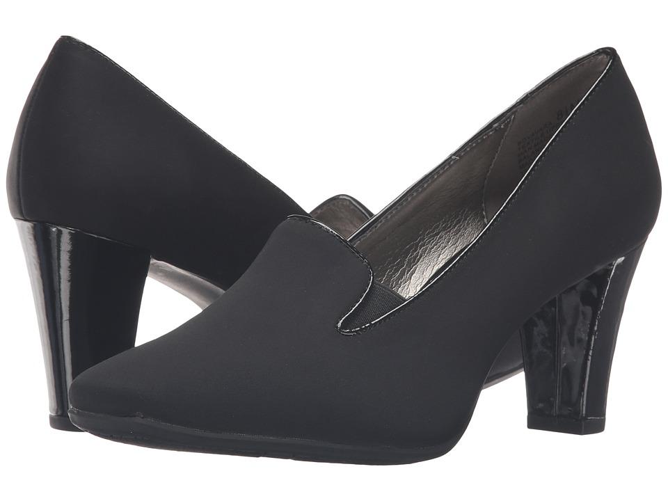 Bandolino - Vavara (Black Lycra) Women's Shoes