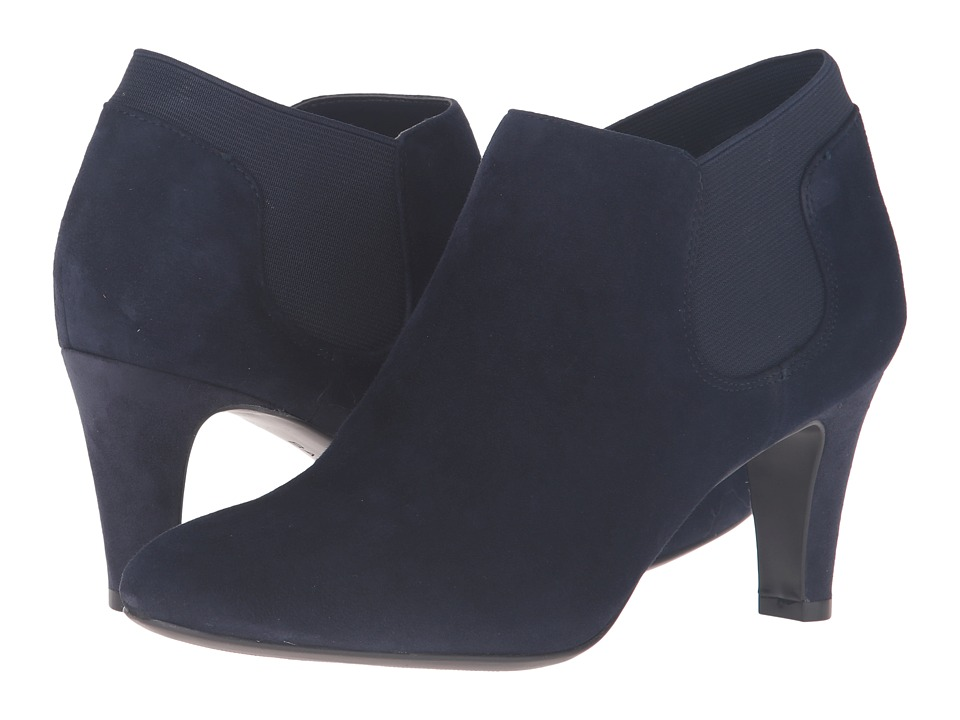 Bandolino - Wilbur (Medium Blue Suede) Women's Shoes