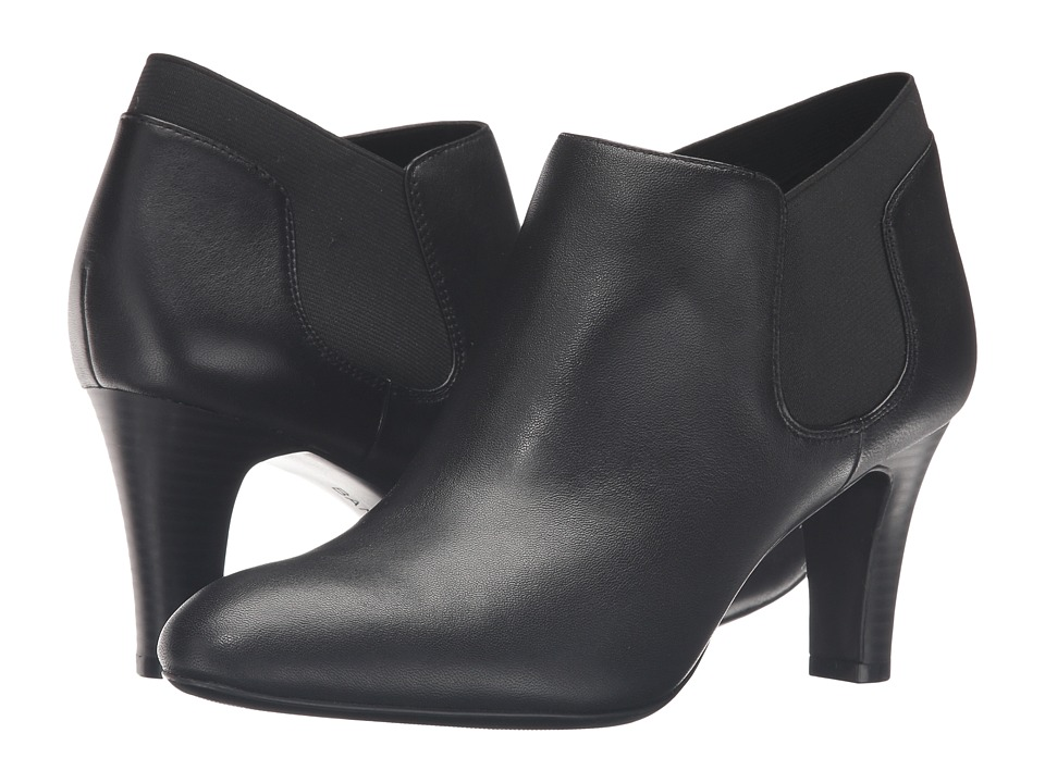 Bandolino - Wilbur (Black Leather) Women's Shoes