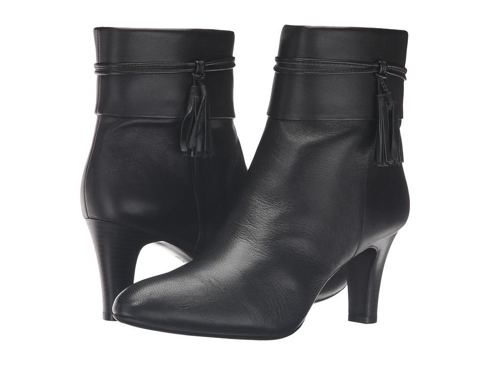 Bandolino - Willara (Black Leather) Women's Shoes