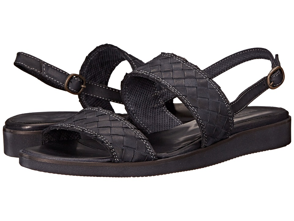 Sesto Meucci - Gussie (Black Blotted Calf) Women's Sandals