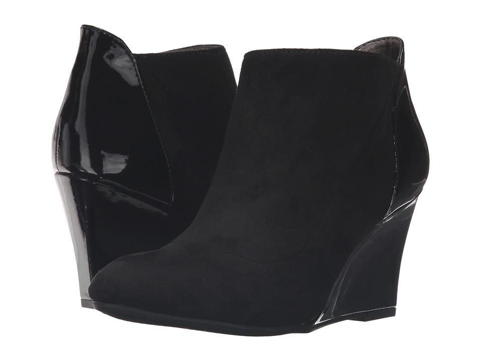Bandolino - Yihana (Black Suede) Women's Shoes