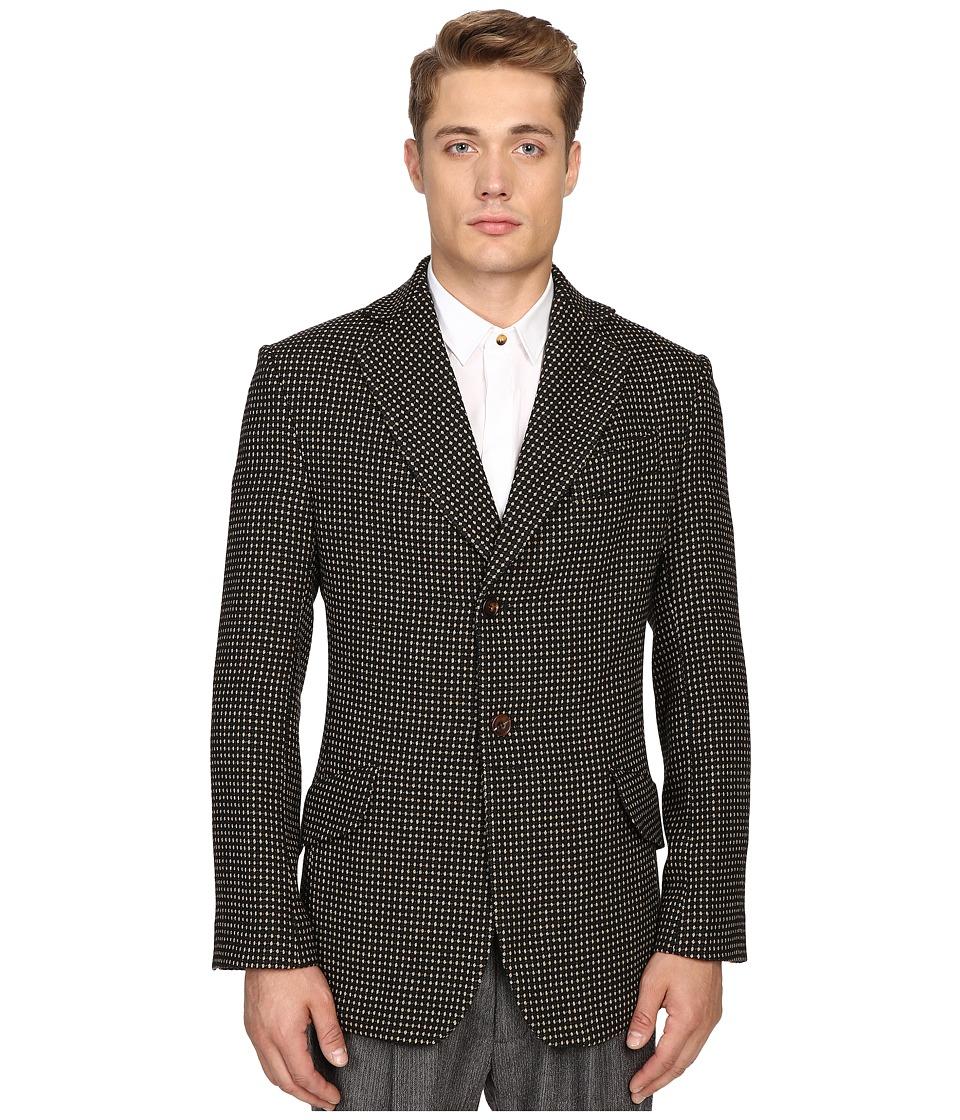 Vivienne Westwood - Hopsack Jacket (Beige Dot) Men's Coat
