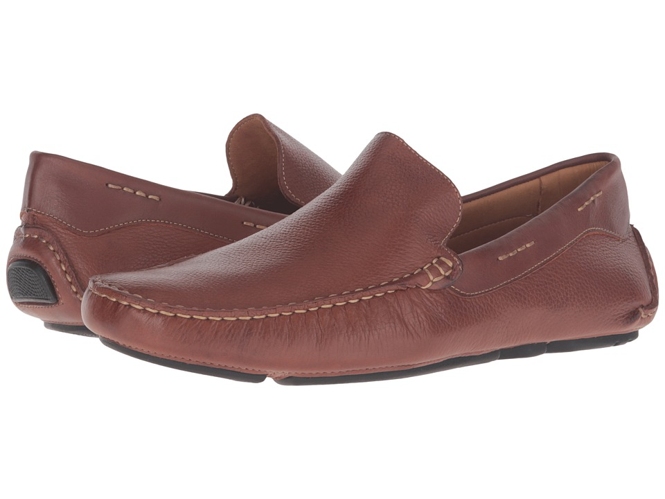 Massimo Matteo - Venetian Driver (Whiskey) Men's Slip on Shoes