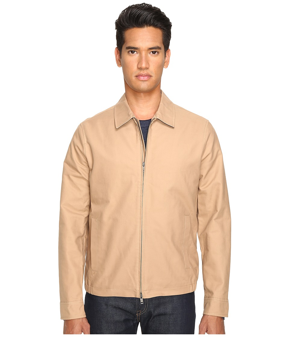 Jack Spade - Cotton Zip Supply Jacket (Khaki) Men's Coat