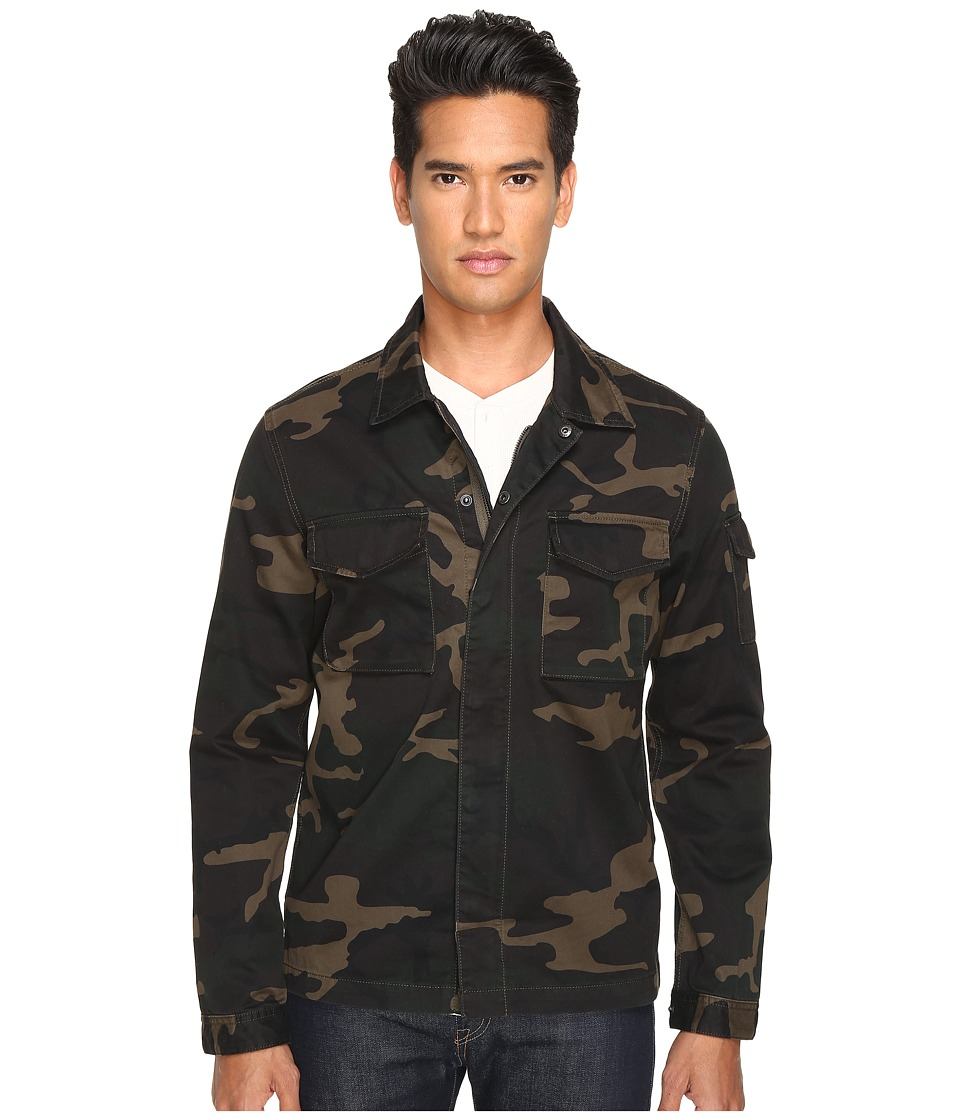 Jack Spade - Camo Riverton Shirt Jacket (Camo) Men's Coat