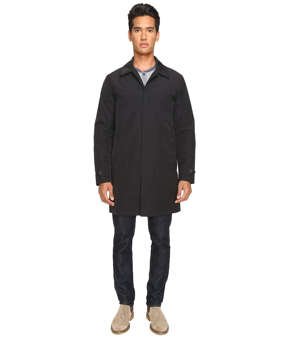 Jack Spade - Packable Trench (Black) Men's Coat