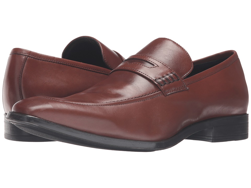 Massimo Matteo Penny Loafer Classic (Havanna) Men