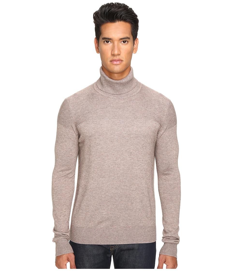 Jack Spade - English Rolled Neck Sweater (Mink) Men's Sweater