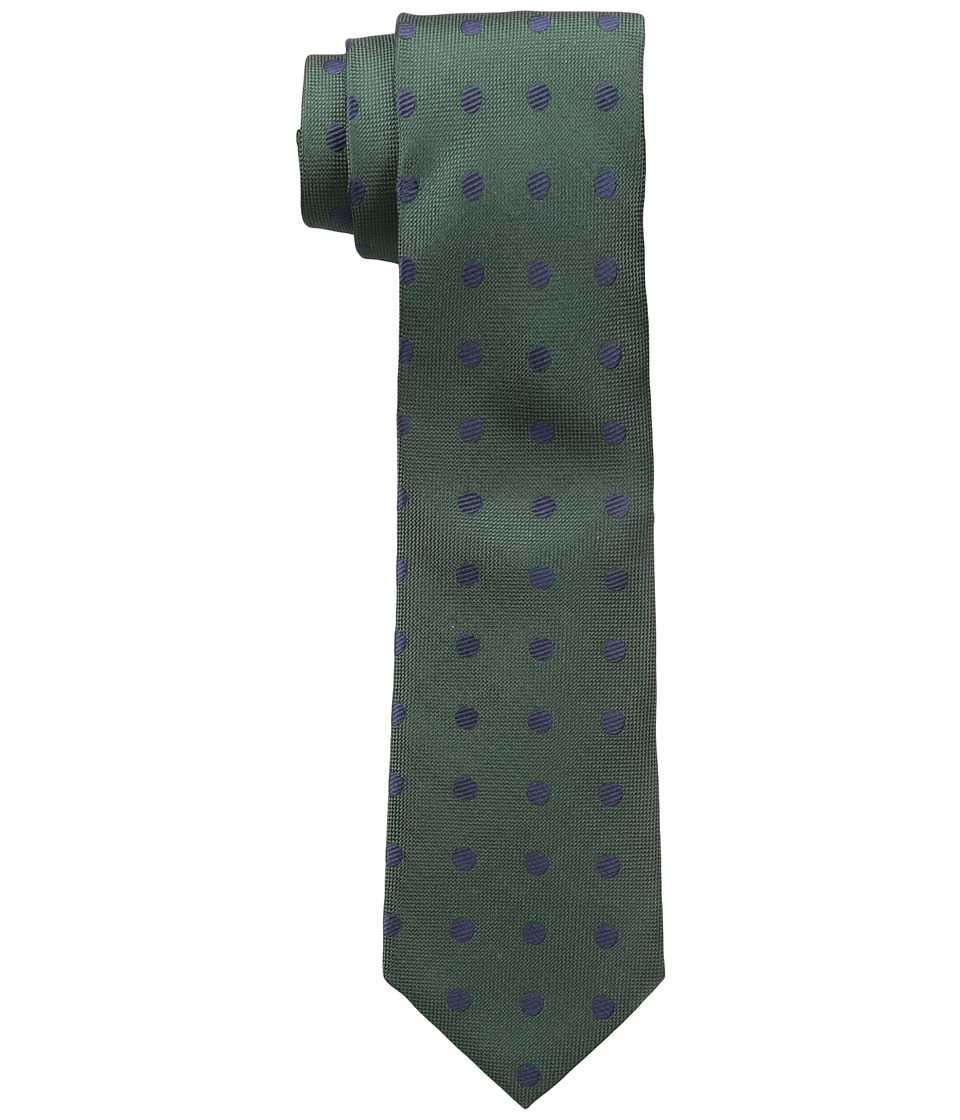 Jack Spade - Large Dot Tie (Green) Ties