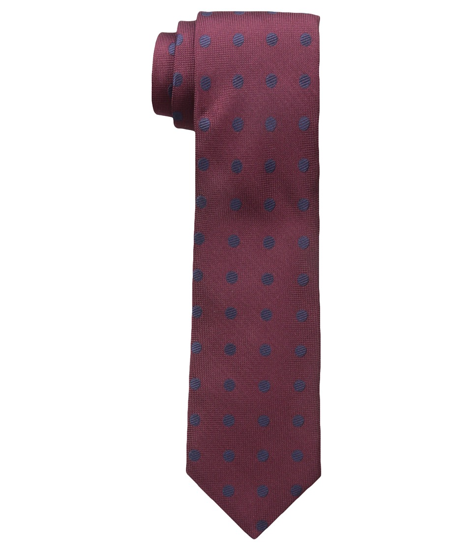 Jack Spade - Large Dot Tie (Red) Ties