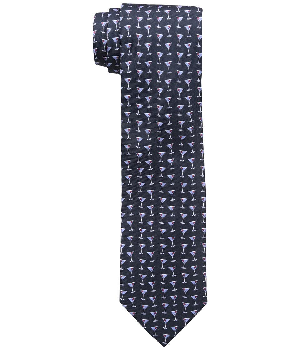 Jack Spade - Sloshing Martini Print Tie (Blue) Ties