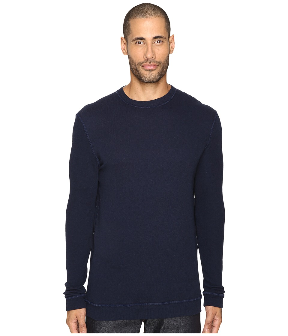 Naked & Famous - Vintage Doubleface Sweater (Navy) Men's Sweater