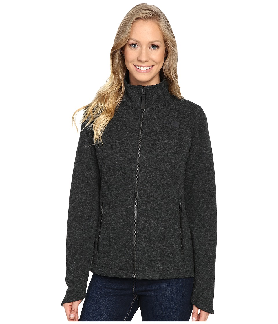 The North Face Far Northern Full Zip (TNF Black Heather (Prior Season)) Women