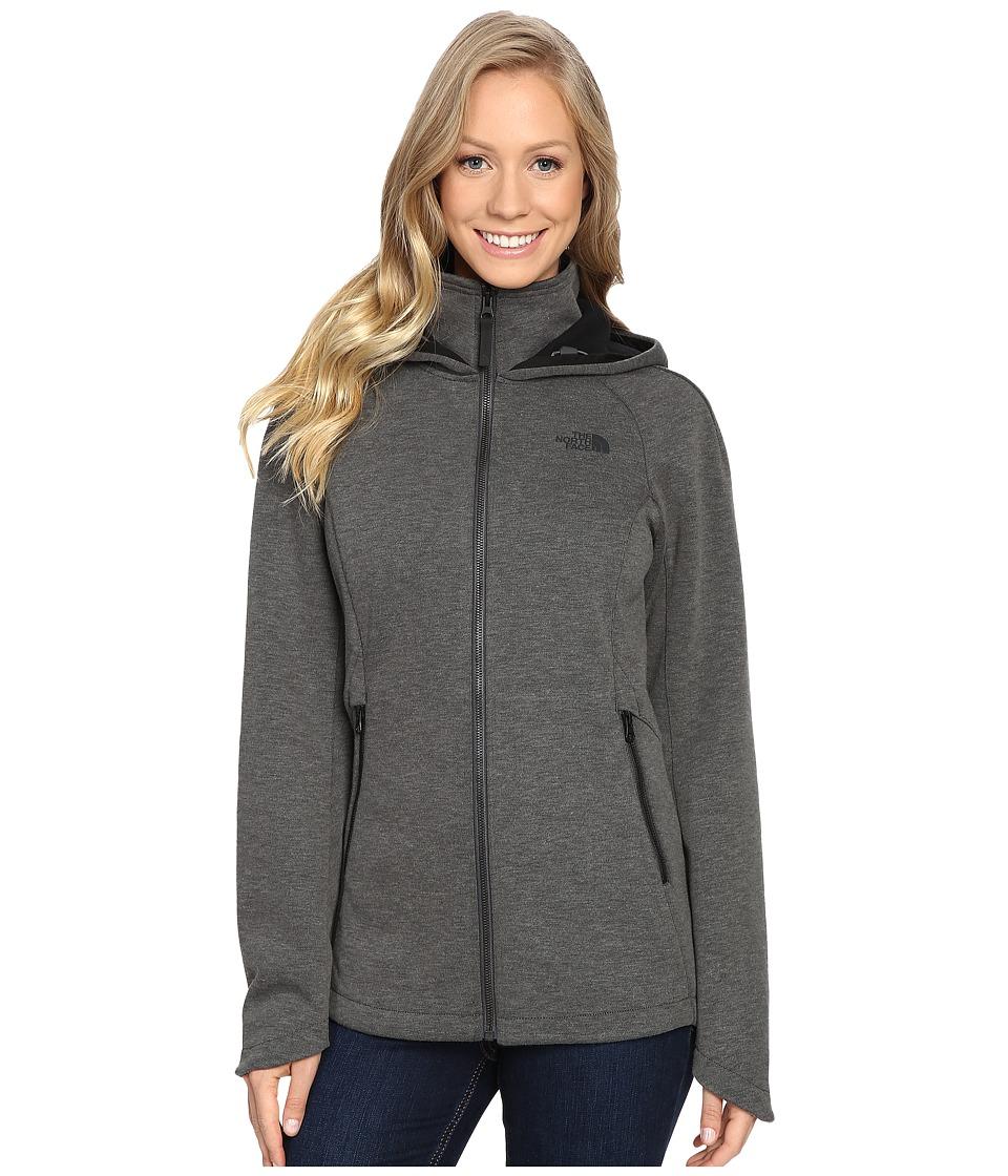 The North Face - Far Northern Hoodie (Asphalt Grey Heather) Women's Sweatshirt