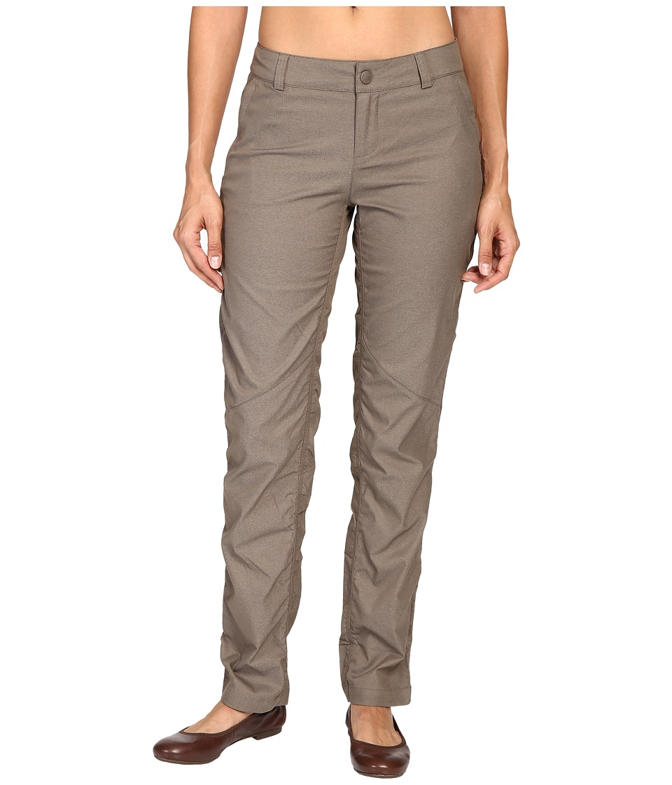 The North Face - Aphrodite Straight Pants (Weimaraner Brown Heather) Women's Casual Pants