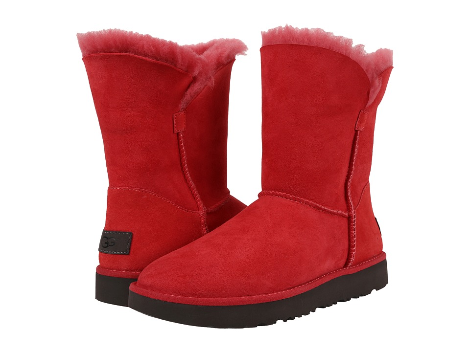 UGG - Classic Cuff Short (Lipstick Red) Women's Shoes