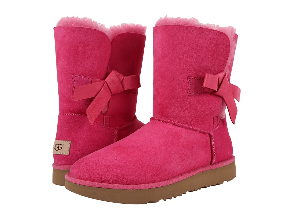 UGG Classic Knot Short Diva Pink Womens Shoes