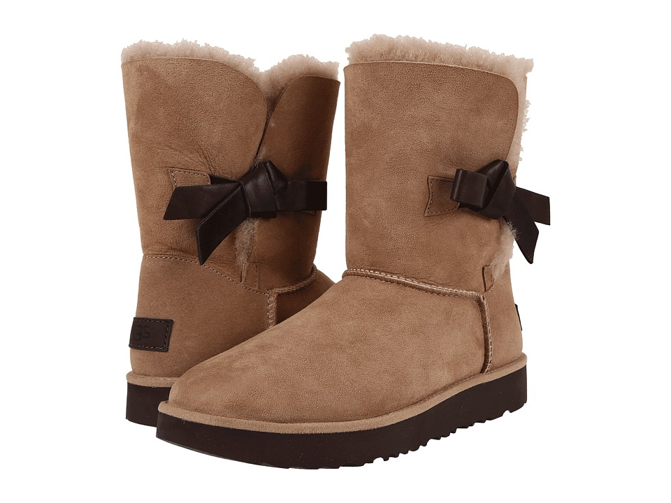 UGG - Classic Knot Short (Natural) Women's Shoes