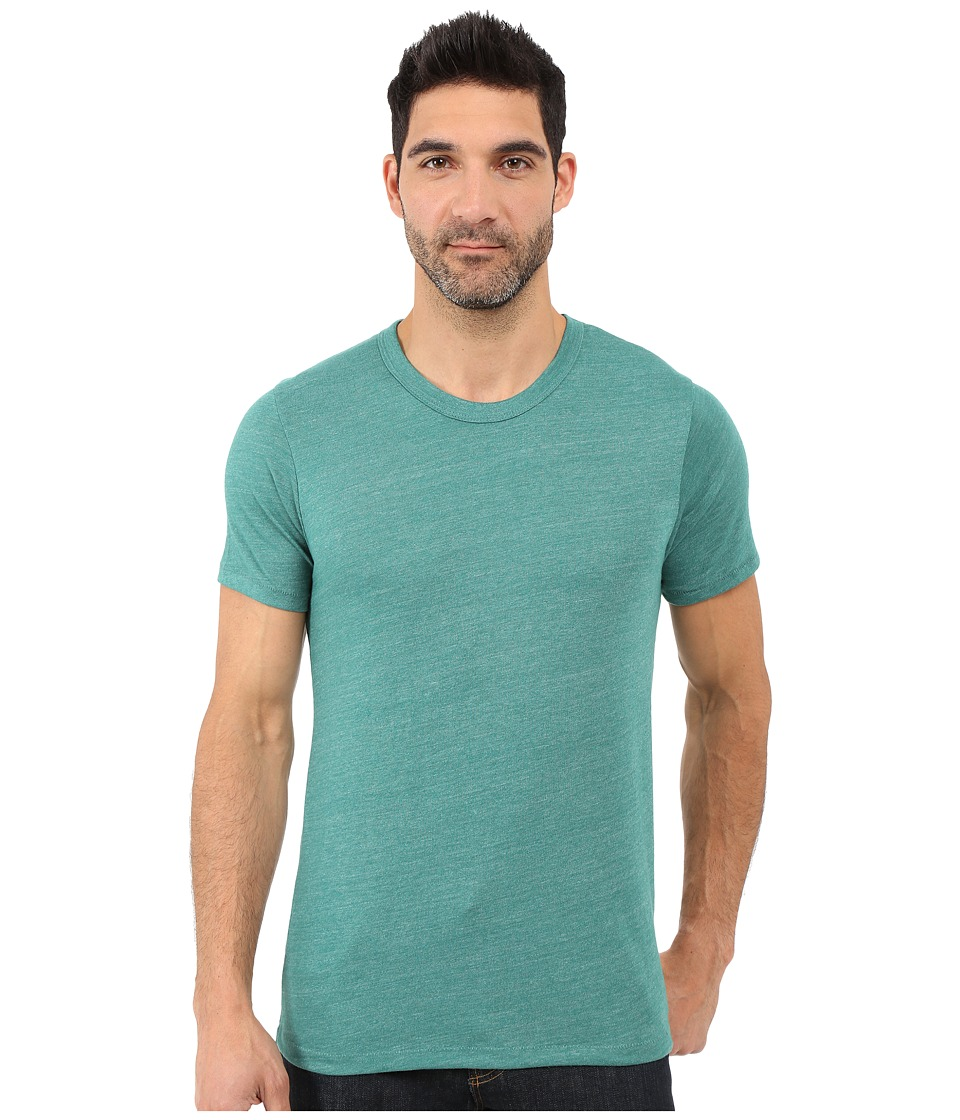 Alternative - Eco Crew T-Shirt (Eco True Aqua Teal) Men's T Shirt