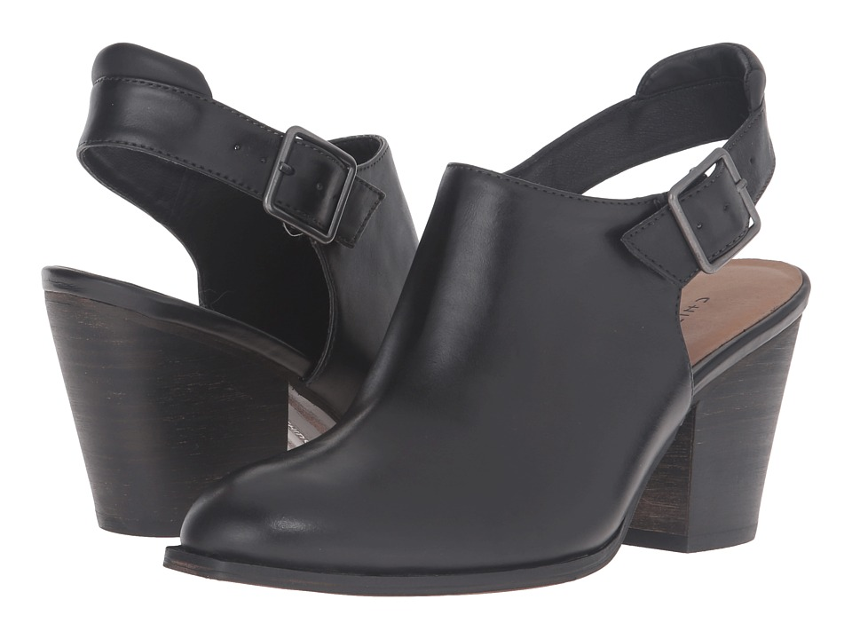 Chinese Laundry - Katrina (Black Leather) Women's Shoes