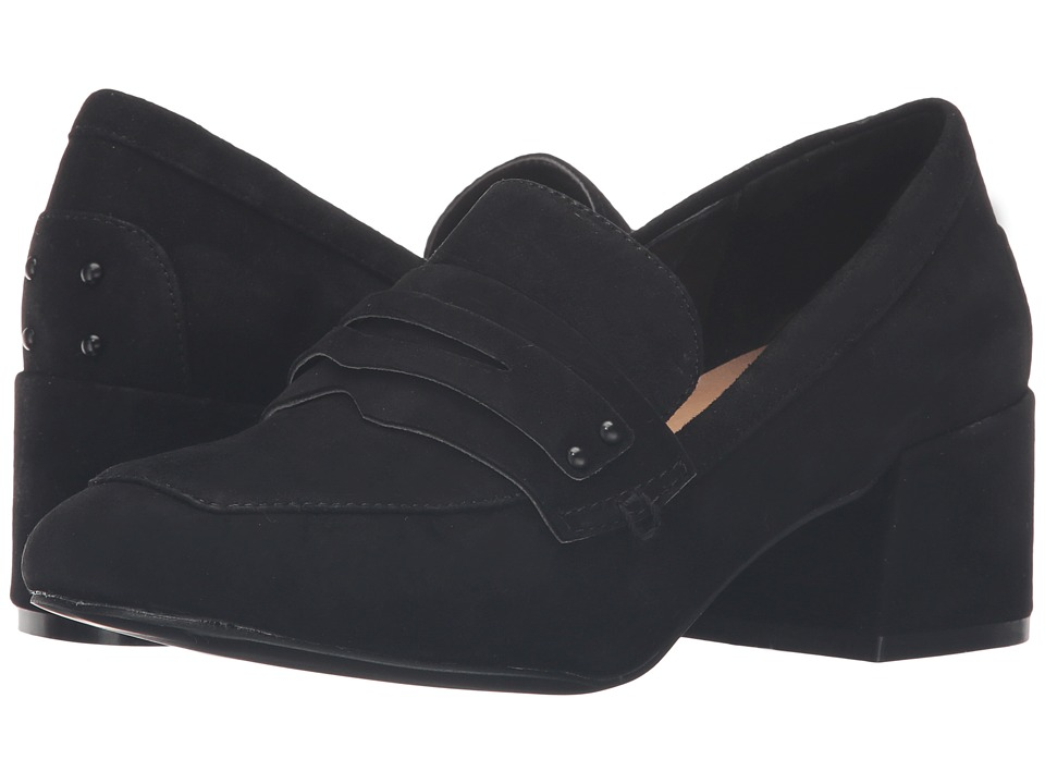 Chinese Laundry Marilyn Loafer (Black Kid Suede) Women