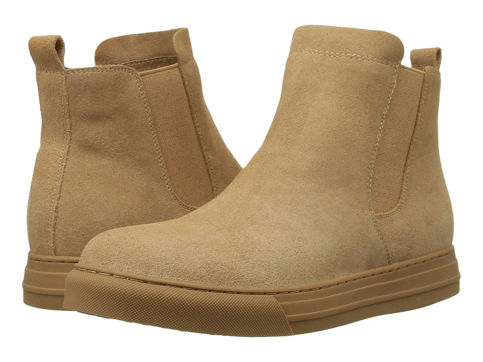 Dirty Laundry Fabina (Camel Split Suede) Women
