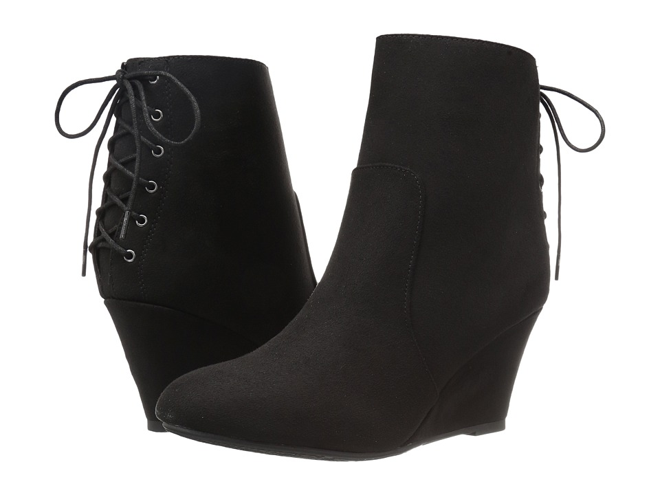 Dirty Laundry - DL Go Viral (Black) Women's Lace-up Boots