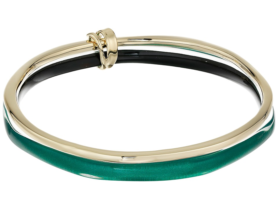 Alexis Bittar - Liquid Metal Paired Bangle (Jungle Green) Bracelet