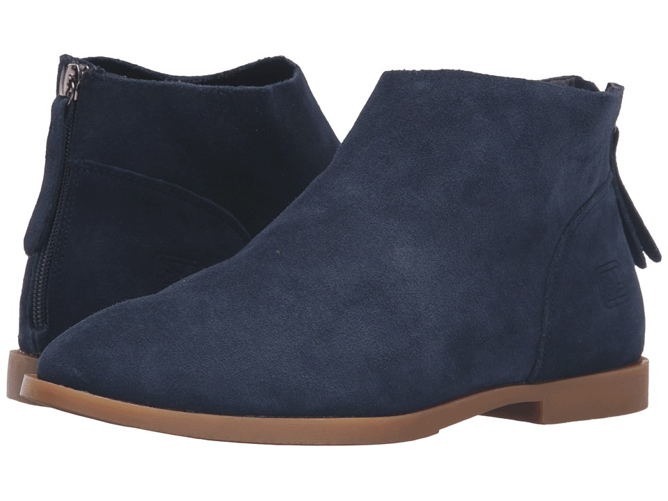 Dirty Laundry Karate Chop (Navy Suede) Women
