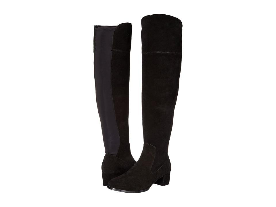 Chinese Laundry Fame Boot (Black Split Suede) Women