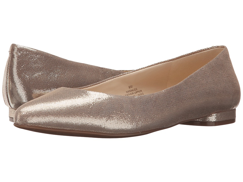 Nine West - Onlee (Gold Metallic) Women's Shoes