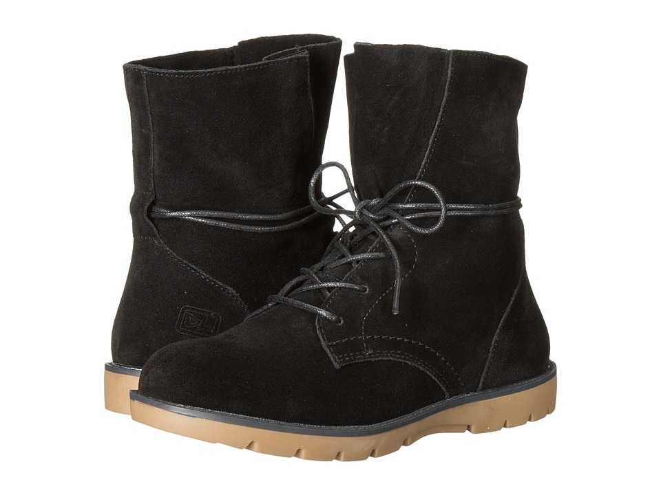 Dirty Laundry - Next Up (Black Split Suede) Women's Boots