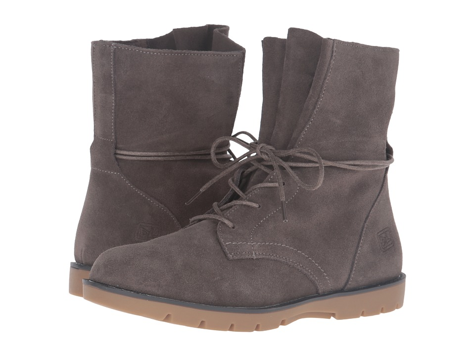 Dirty Laundry - Next Up (Grey Split Suede) Women's Boots