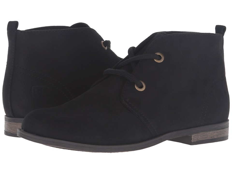Dirty Laundry - Keegan (Black Fabric Suede) Women's Shoes