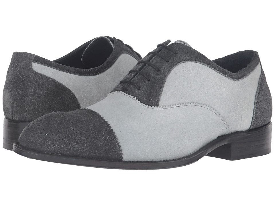 Messico - Donato Welt (Grey Suede/Light Grey Suede Leather) Men's Shoes