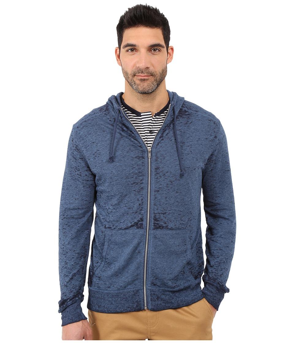 Alternative - Eco Mock Twist French Terry Burnout Mock Rocky (Mock Midnight Burnout) Men's Sweatshirt