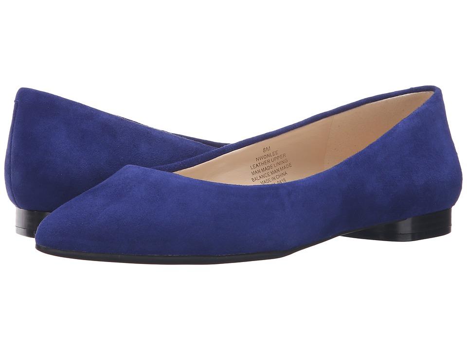 Nine West - Onlee (Blue Suede) Women's Shoes