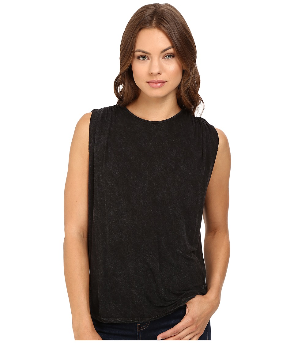 Project Social T - Studio Tank Top (MW Black) Women's Sleeveless