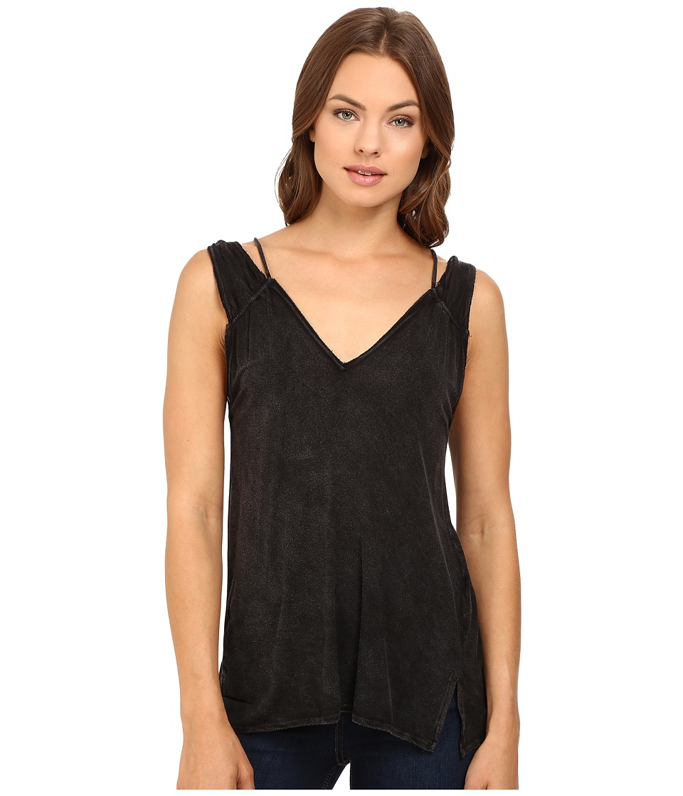 Project Social T - Soho Tank Top (MW Black) Women's Sleeveless