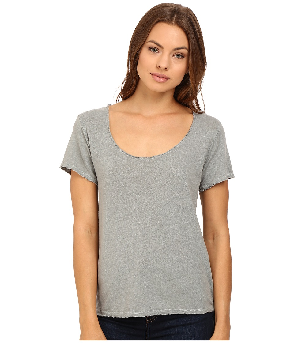 Project Social T - Scooped Linen Tee (Stone) Women's T Shirt