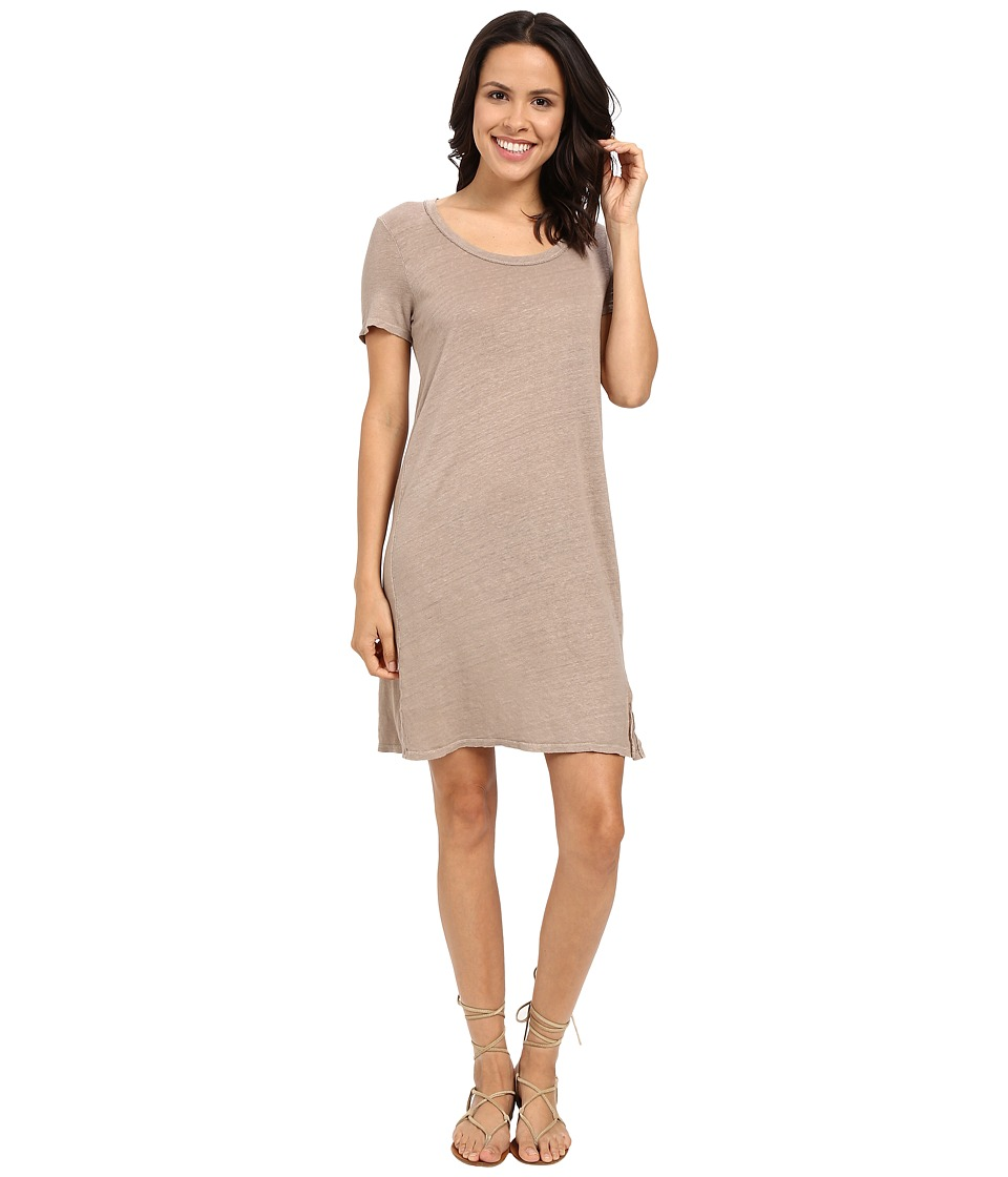 Project Social T - Tee Shirtdress (Sepia) Women's Dress